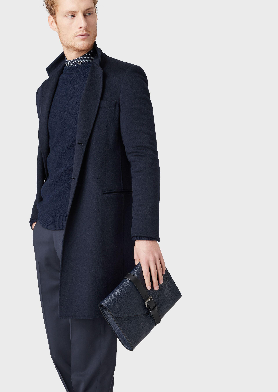GIORGIO ARMANI DOUBLE CASHMERE COAT Classic Coat U a