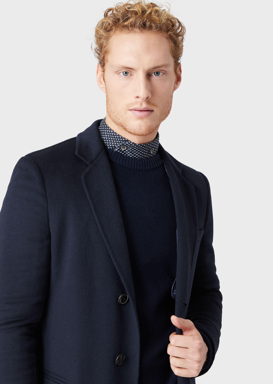 GIORGIO ARMANI DOUBLE CASHMERE COAT Classic Coat U b
