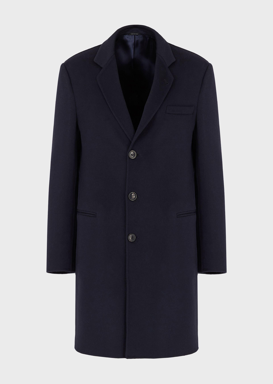 GIORGIO ARMANI DOUBLE CASHMERE COAT Classic Coat U f