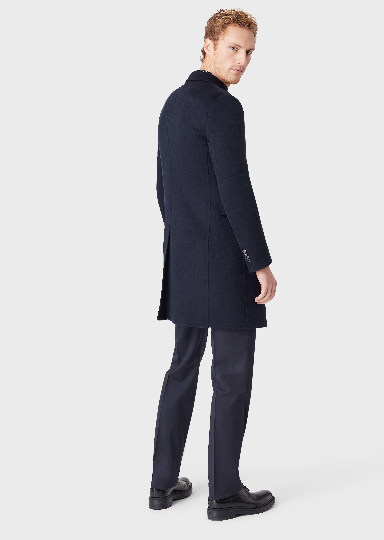 GIORGIO ARMANI DOUBLE CASHMERE COAT Classic Coat U r