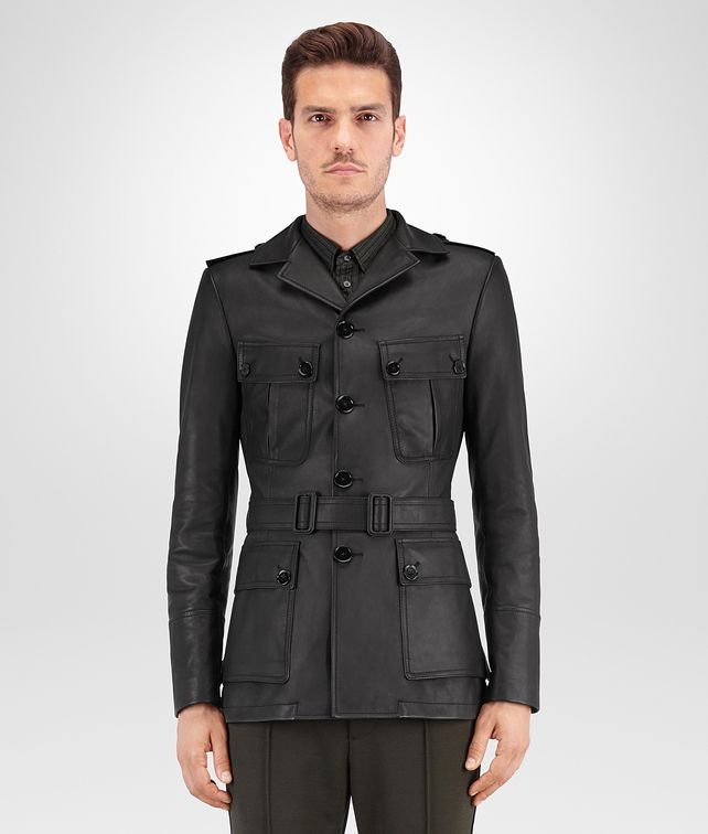 BOTTEGA VENETA NERO CALF JACKET Coat or Jacket Man fp