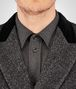 BOTTEGA VENETA MIST HERRINGBONE WOOL COAT Coat or Jacket U ap