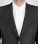 BOTTEGA VENETA NERO WOOL SILK TWILL TUXEDO JACKET Outerwear and Jacket Man ap