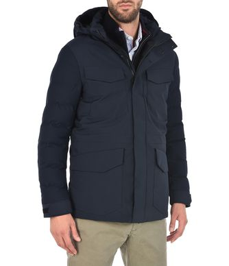 NAPAPIJRI ALSACE MAN PADDED JACKET,DARK BLUE