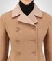 BOTTEGA VENETA CAMEL WOOL COAT Outerwear and Jacket Woman ap