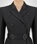 BOTTEGA VENETA NERO SILK COTTON TWILL COAT Outerwear and Jacket Woman ap