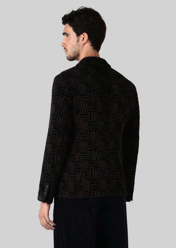 Limit Discount Recommend Cheap Giorgio Armani textured single breasted coat 100% Original Sale Online Sale Fashion Style Find Great Cheap Online aiNx8EJkD
