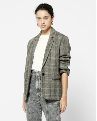 ISABEL MARANT ÉTOILE JACKET Woman CHARLY oversized jacket r