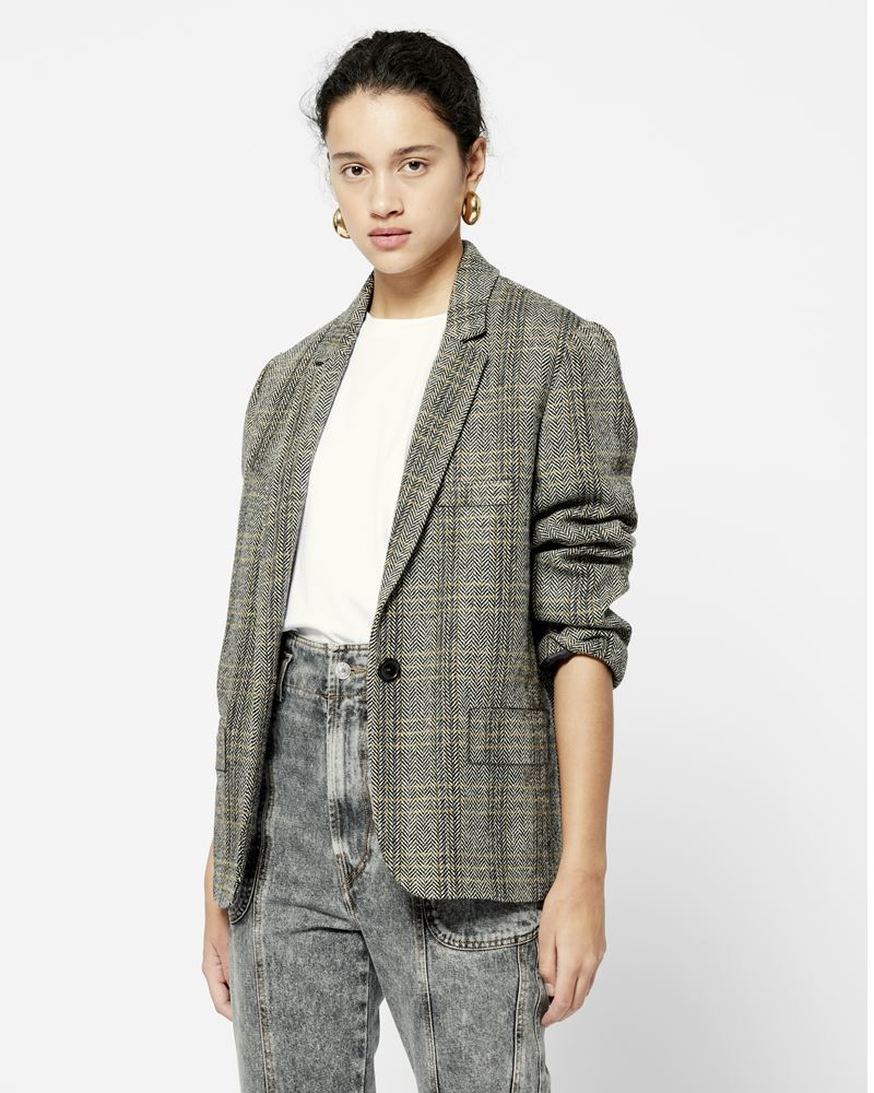 CHARLY oversized jacket ISABEL MARANT ÉTOILE