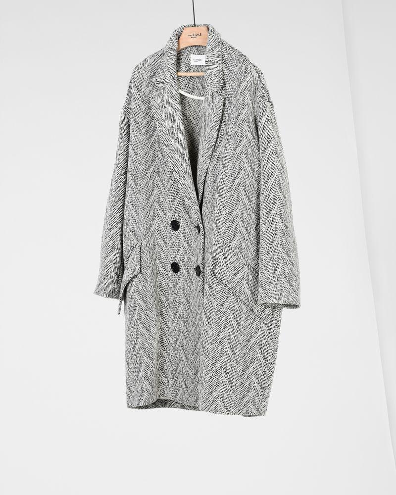 FIMO chevron coat ISABEL MARANT ÉTOILE