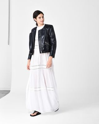 ISABEL MARANT ÉTOILE JACKET Woman GRINLY leather biker jacket r