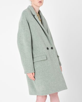 ISABEL MARANT COAT Woman FILIPO long coat r