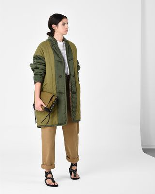 HALEY reversible coat