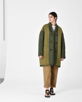 ISABEL MARANT ÉTOILE COAT D HALEY reversible coat r