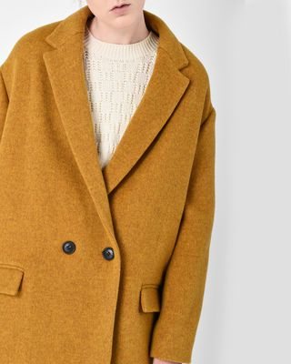 ISABEL MARANT COAT D FILEY wool coat r
