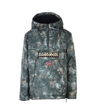 NAPAPIJRI K RAINFOREST EXCLUSIVE JUNIOR KID RAINFOREST,MILITARY GREEN
