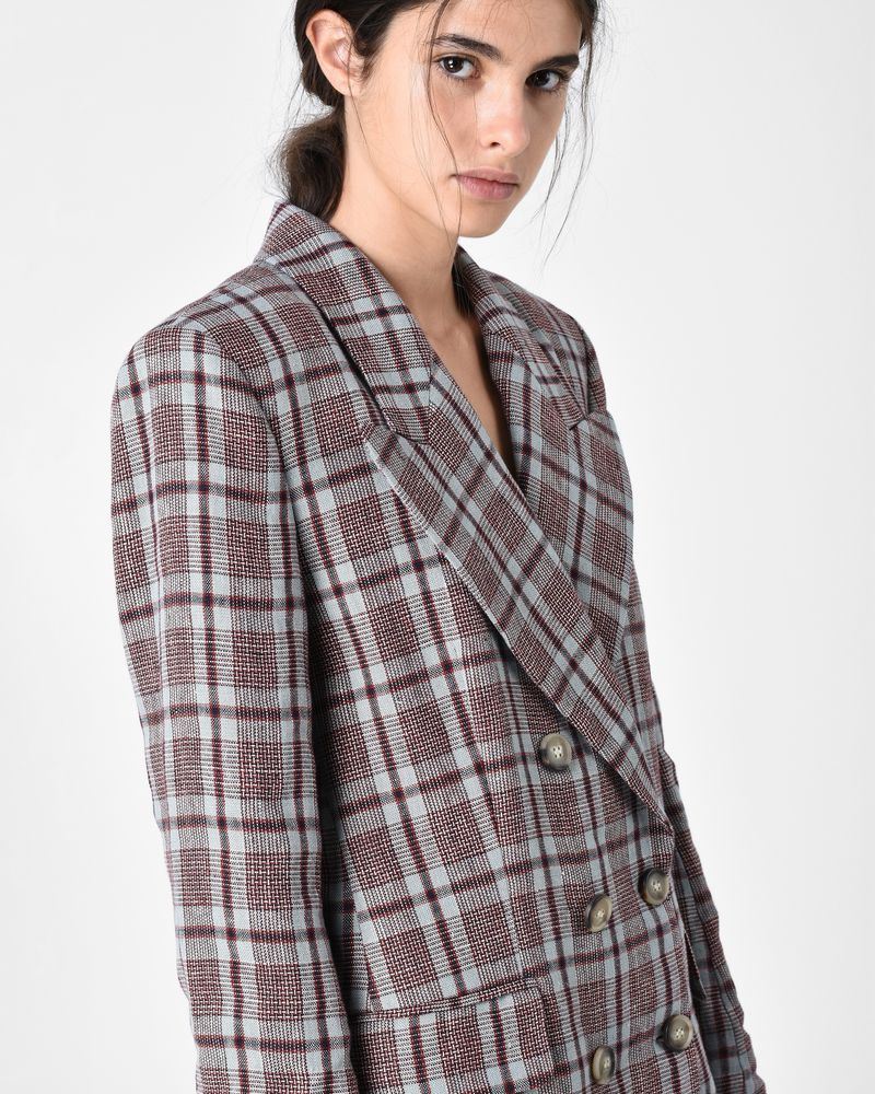 IANEY double breasted jacket ISABEL MARANT ÉTOILE