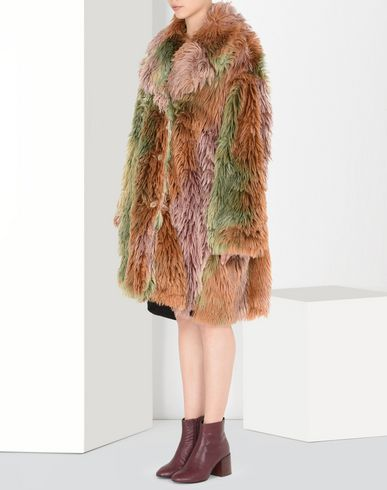 MM6 MAISON MARGIELA Coat D Faux fur coat f