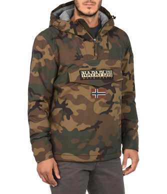 NAPAPIJRI RAINFOREST CAMO MAN RAINFOREST,KHAKI
