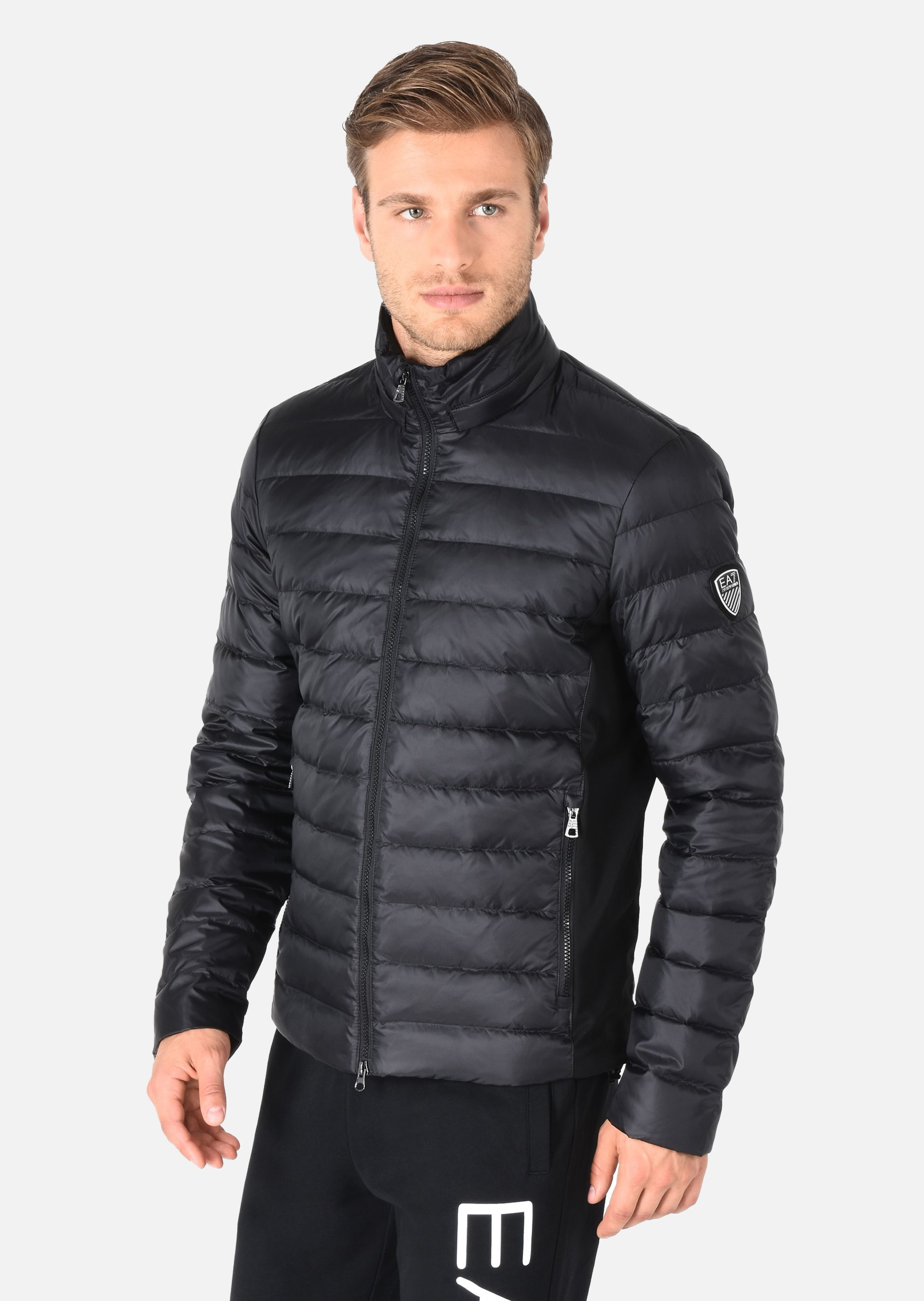 ... EMPORIO ARMANI Technical fabric padded jacket Down Jacket U d ...