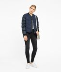 KARL LAGERFELD Bouclé Quilted Down Bomber 8_e