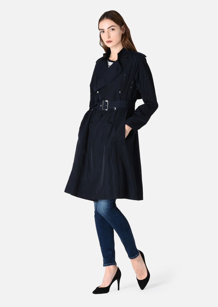 27103e93cd6 TRENCH COAT WITH BELT | Woman | Emporio Armani