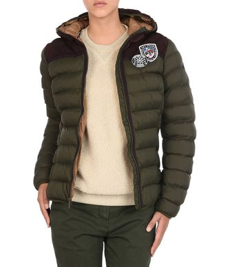 NAPAPIJRI ARTICAGE WOMAN PADDED JACKET,MILITARY GREEN
