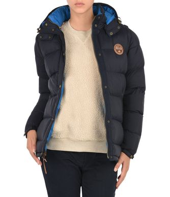 NAPAPIJRI ARTIC 2IN1  WOMAN PADDED JACKET,DARK BLUE