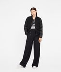 KARL LAGERFELD Bouclé Quilted Down Bomber 8_d