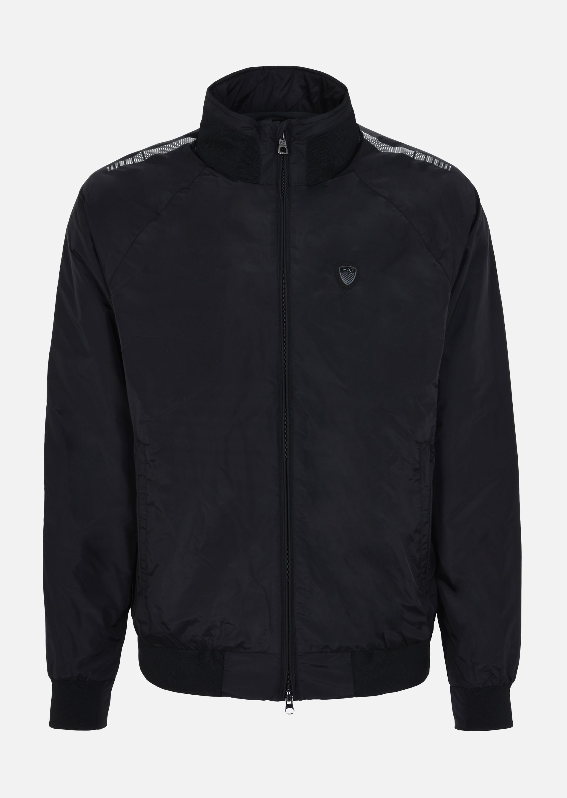 Men's black armani puffer jacket