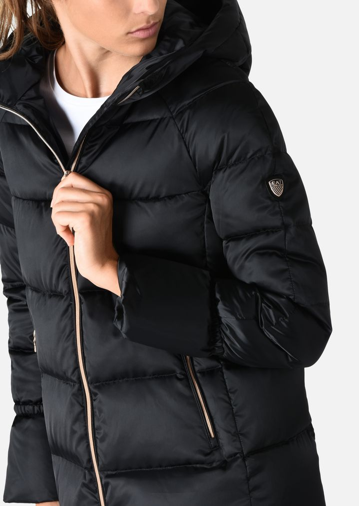 Home · Emporio Armani  Hooded down jacket. EA7 ea837ded794