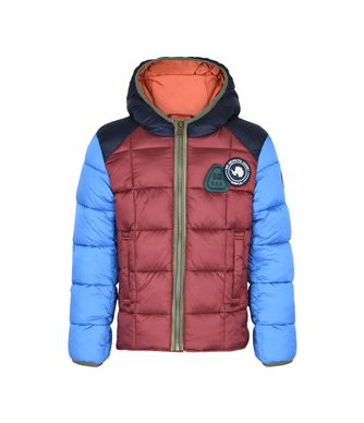 NAPAPIJRI K ARRIN JUNIOR KID SHORT JACKET,RED