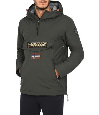 NAPAPIJRI RAINFOREST POCKETS SMARTY MAN RAINFOREST,LEAD