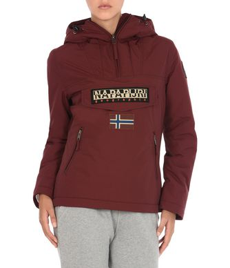 NAPAPIJRI RAINFOREST POCKETS WOMAN RAINFOREST,MAROON