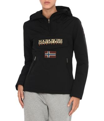 NAPAPIJRI RAINFOREST POCKETS WOMAN RAINFOREST,BLACK