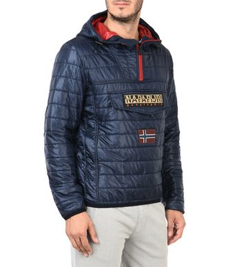 NAPAPIJRI RAINBOW MAN SHORT JACKET,DARK BLUE