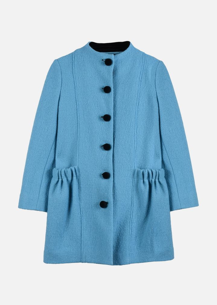 lowest price 4d6ac aba81 CAPPOTTO IN LANA COTTA | Bambina | Armani Junior