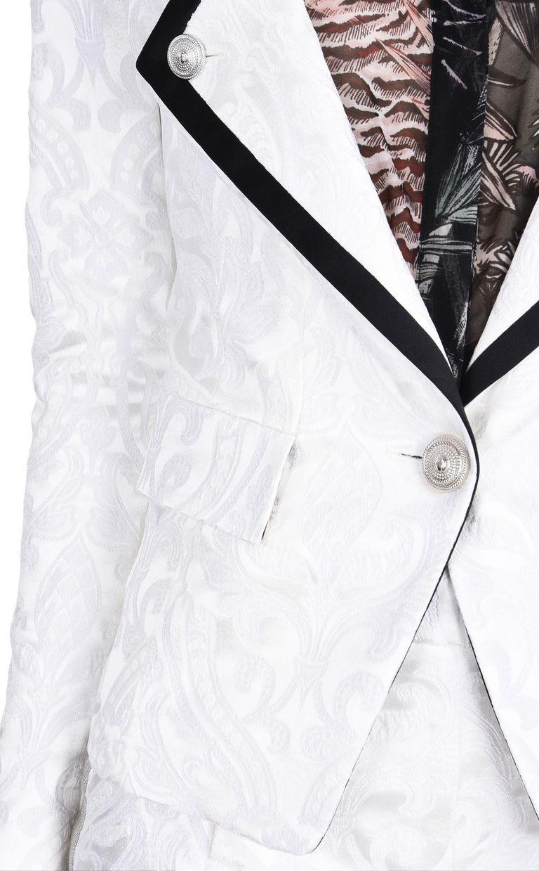 JUST CAVALLI Flower Jacquard formal jacket Blazer D e