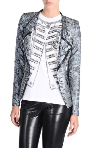 JUST CAVALLI Jacket D Viscose jacket with studs f