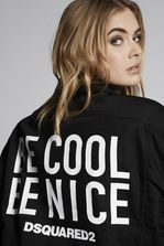 DSQUARED2 Be Cool Be Nice Oversize Denim Jacket 牛仔外衣 女士