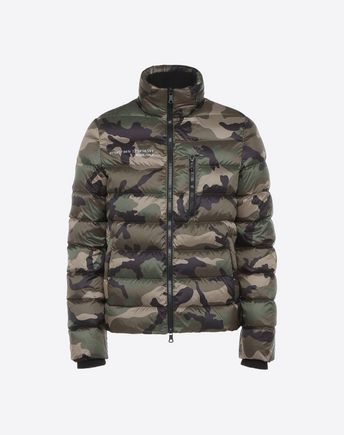 VALENTINO Down jacket U Reversible Camushuffle down coat f