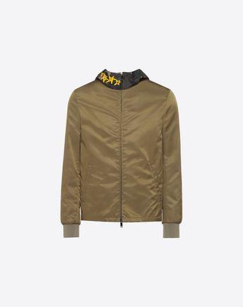 VALENTINO Down jacket U Reversible Camoushuffle down coat f