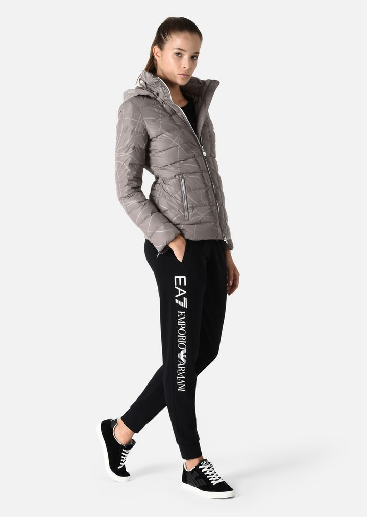 6a723e2eac Padded jacket in technical fabric | Woman | Ea7