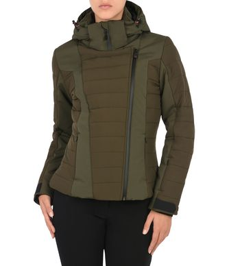NAPAPIJRI COCOE WOMAN SKI JACKET,MILITARY GREEN