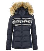 NAPAPIJRI Ski jacket D CHERRY ECO FUR a
