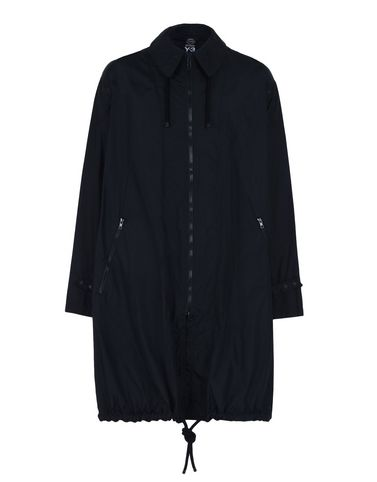 Y-3 PACKABLE NYLON COAT COATS & JACKETS man Y-3 adidas