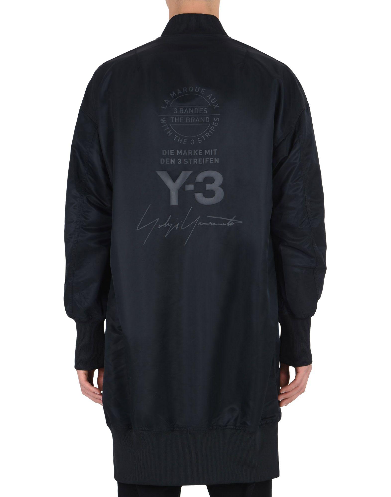 Y-3 Y-3 LONG BOMBER Coat E e