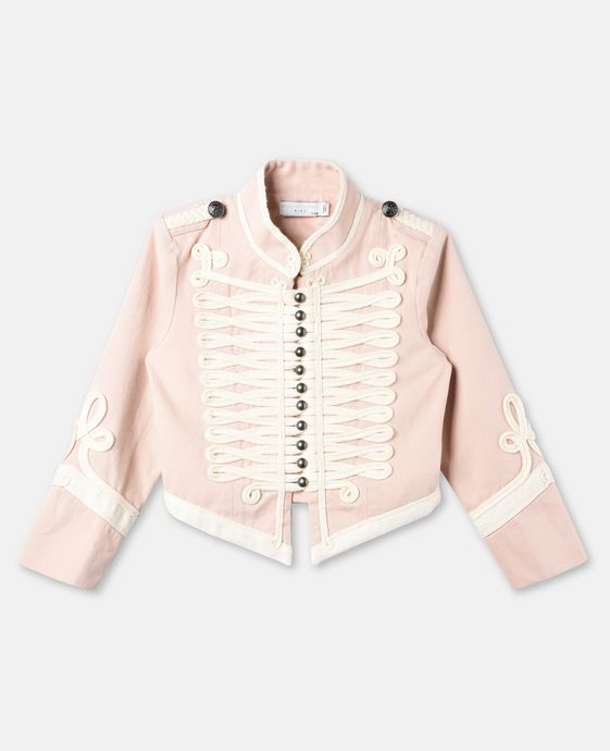Will Pink Military Jacket