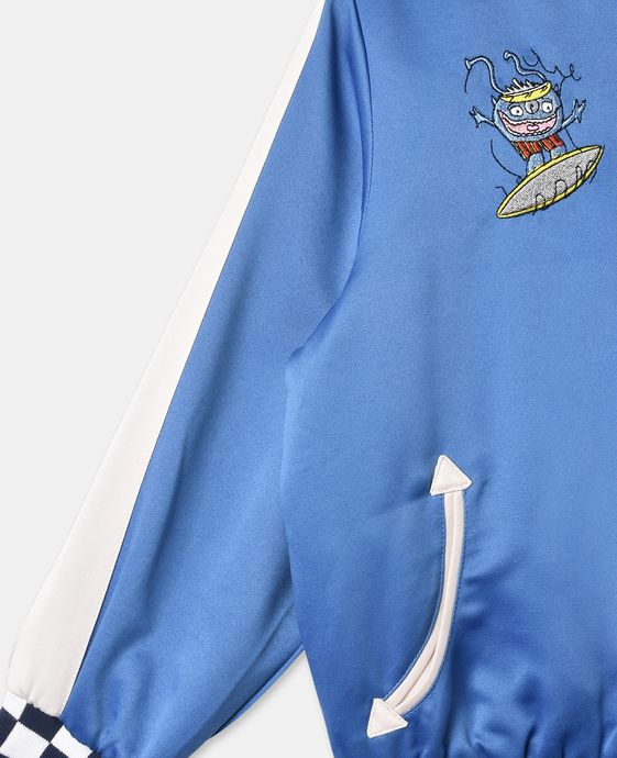 STELLA McCARTNEY KIDS Eastwood Bomber Jacket Outerwear U h