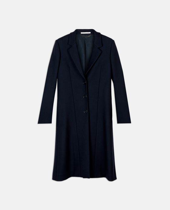 Katie Blue Wool Coat